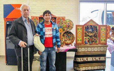Visita M. Vargas Llosa