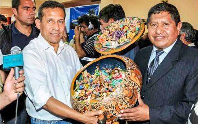 Regalo al Presidente Humala
